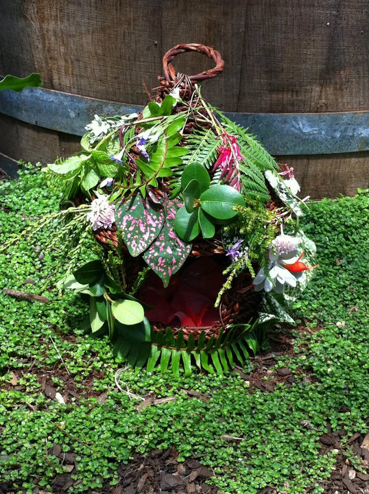 How to make a faery house –  really quickly
